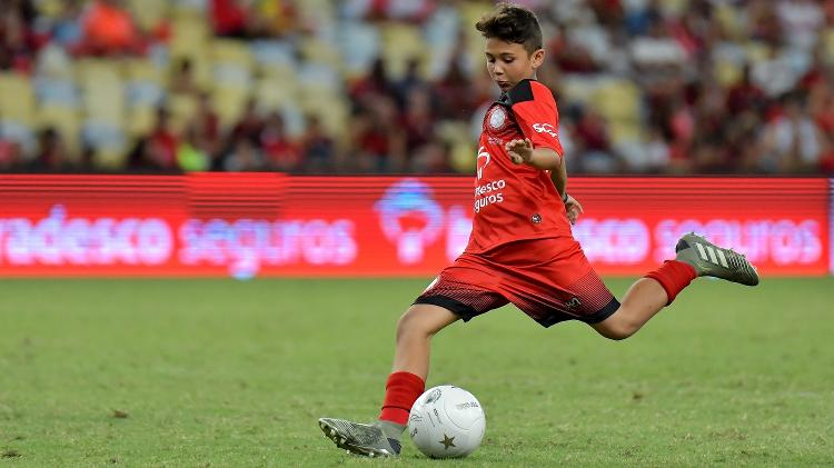 Felipe, neto de Zico - Thiago Ribeiro/AGIF