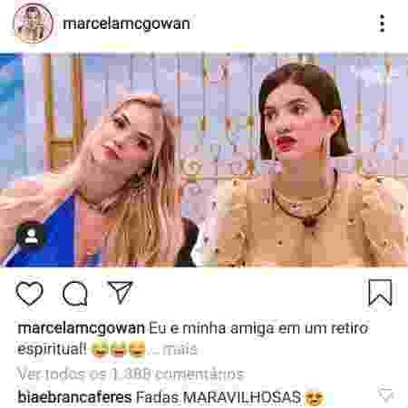 Manu-Marcela-Bia-Branca - Reprodução - Reprodução
