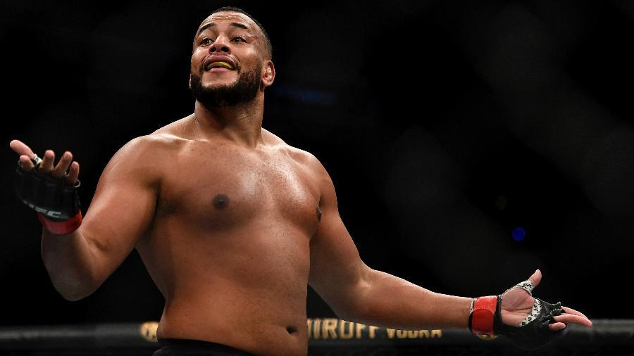 Rodrigo Ferreira, o Zé Colmeia, mostrou personalidade e mostrou estar pronto pro UFC - Douglas P. DeFelice/Getty Images