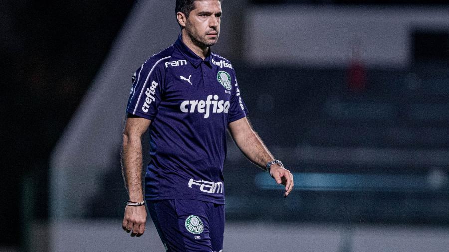Abel Ferreira comanda o Palmeiras contra o Goiás em jogo do Brasileirão - Heber Gomes/AGIF