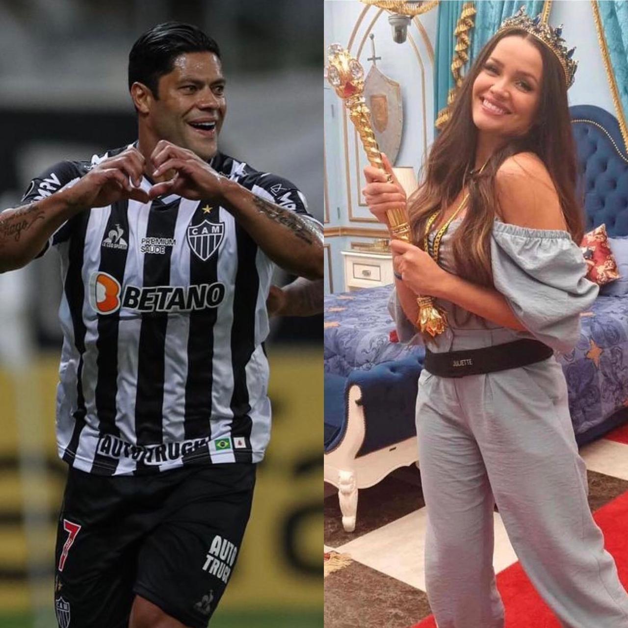 Autor de dois gols contra o Cerro Porteño, Hulk brillhou na mesma noite que Juliette levou o BBB 21