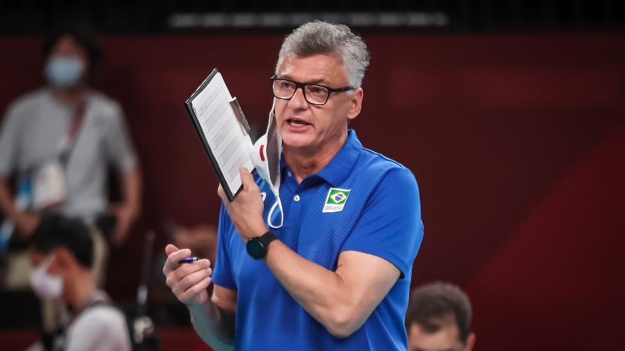 Técnico Renan comemora estreia nas Olimpíadas após superar a covid-19 ao ficar 40 dias internado na UTI - Gaspar Nóbrega/COB/Gaspar Nóbrega/COB
