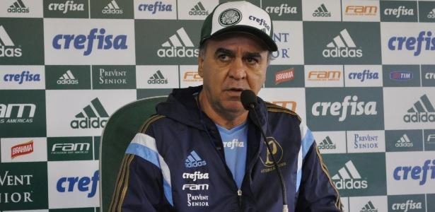 Marcelo Oliveira concede entrevista após treinamento do Palmeiras - Marinho Saldanha/UOL