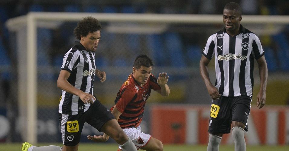 Botafogo e Oeste empatam em 1x1 na Série B