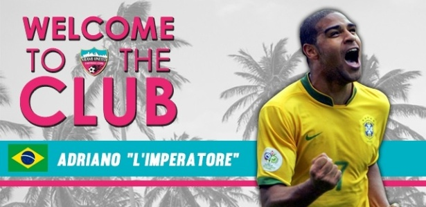 Adriano acerta compra de time dos EUA e volta ao futebol após quase ... 6ec62f8f1ec7f