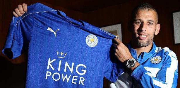 Slimani é o novo reforço do Leicester