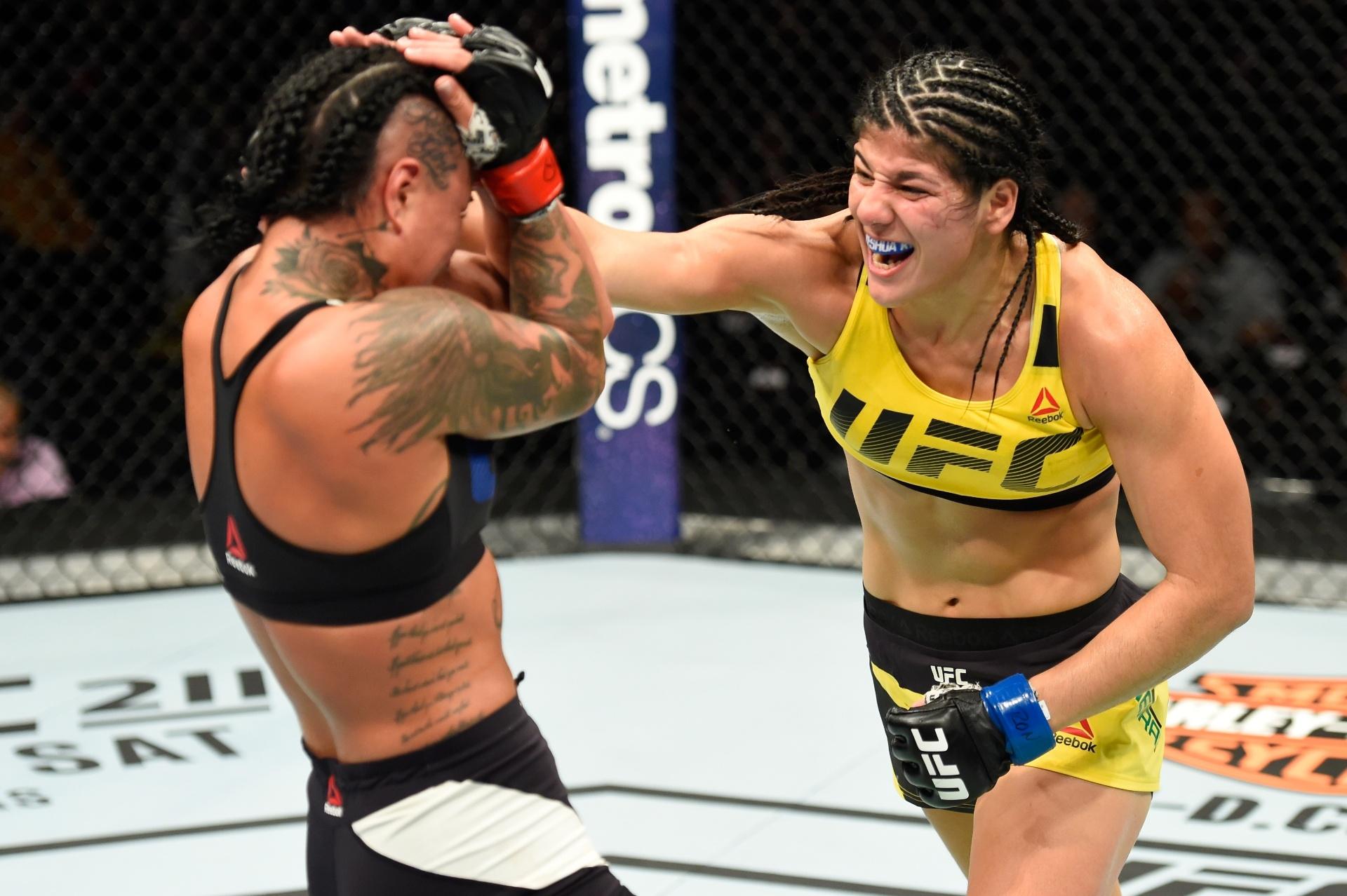 Brasileira Ketlen Vieira vence americana Ashlee Evans-Smith no UFC Kansas