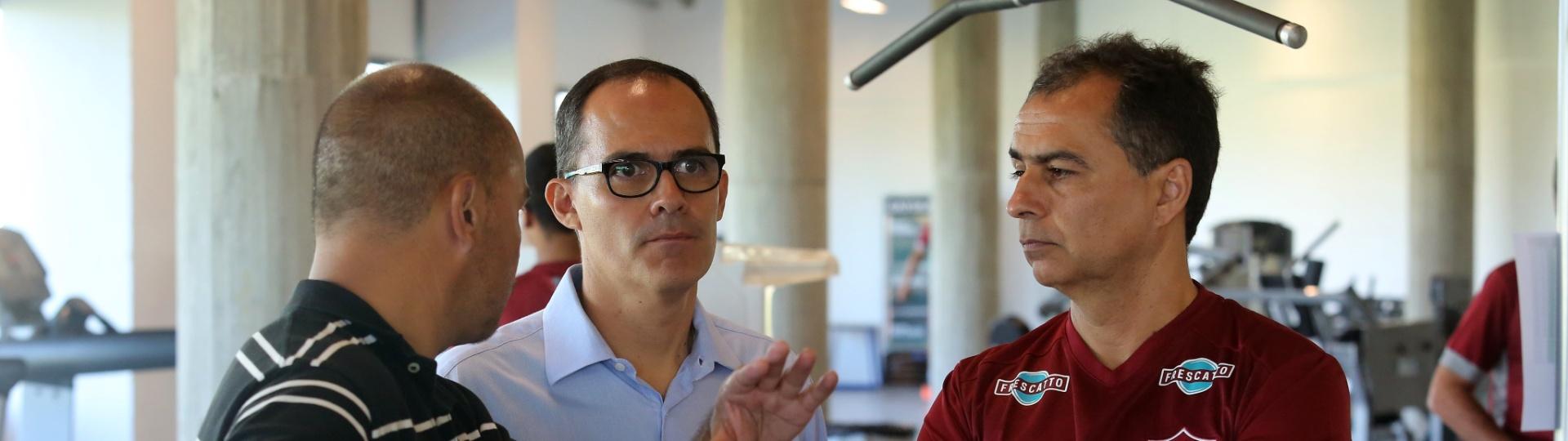 Fernando Veiga, vice-presidente de futebol do Fluminense