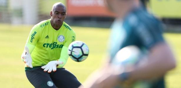 Jailson não joga desde a eliminação do Palmeiras na Libertadores