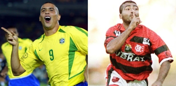 Duelos clássicos | Ronaldo ou Romário? 5 discussões que você já teve sobre futebol