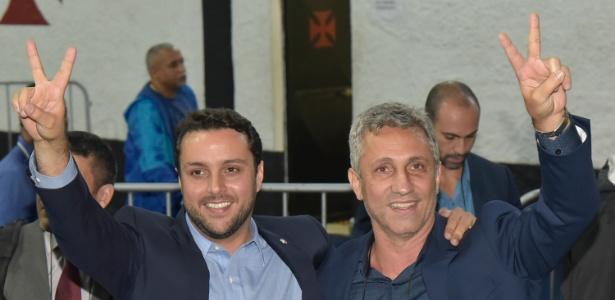 Julio Brant e Alexandre Campello já foram aliados, agora são desafetos no Vasco