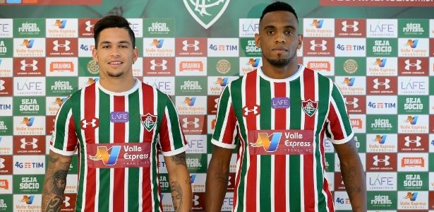 Luciano e Digão são os dois reforços confirmados pelo Flu durante o período da Copa do Mundo