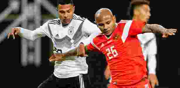 Brasileiro naturalizado russo Ari estreia pela seleção - ROBERT MICHAEL/AFP - ROBERT MICHAEL/AFP