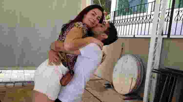 Daniel com a mãe Eliana Correa  - Arquivo Pessoal - Arquivo Pessoal