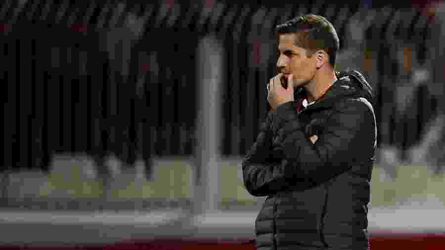 Robert Moreno deixou o cargo de treinador da Espanha com o retorno de Luis Enrique - Filippo MONTEFORTE / AFP