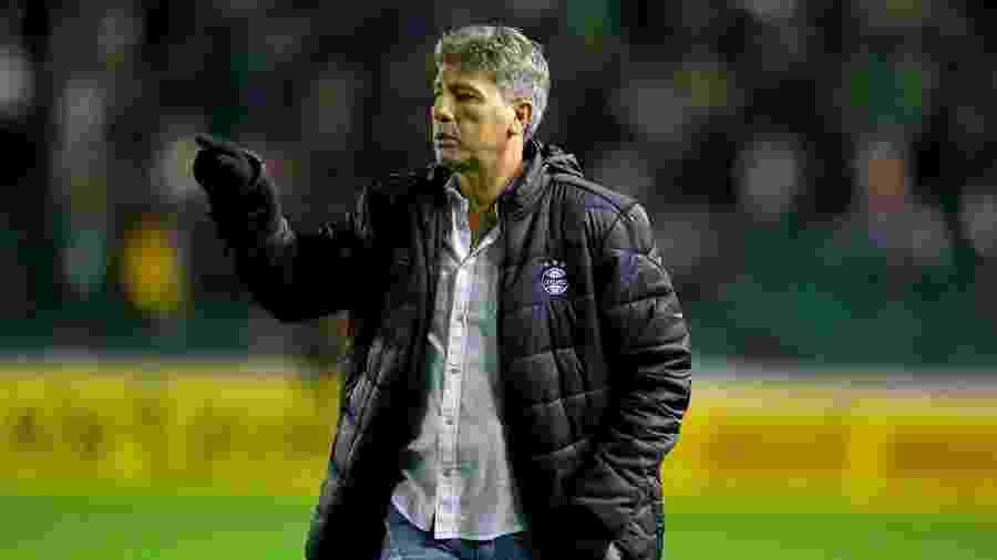 Renato Gaúcho não quer saber de crise no Grêmio, mesmo com resultados ruins - Lucas Uebel/Grêmio FBPA