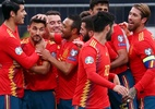 Espanha goleia Ilhas Faroe e segue 100% nas Eliminatórias da Eurocopa - SERGIO PEREZ/REUTERS