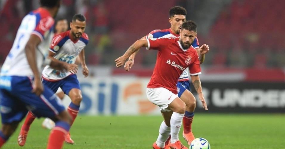 Rafael Sóbis, durante partida entre Inter e Bahia