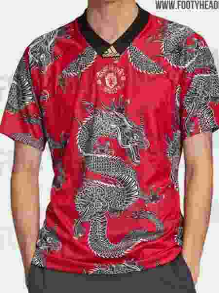 Camisa Manchester United - Footy Headlines/Reprodução - Footy Headlines/Reprodução