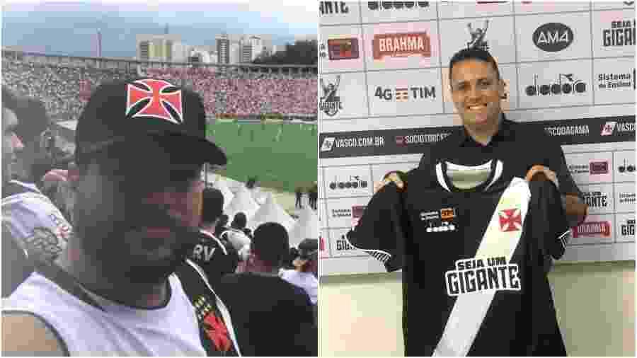 Jayme Neto e Jorge Menezes Neto, torcedores do Vasco, fizeram versão de axé  - Fotos de Arquivo Pessoal