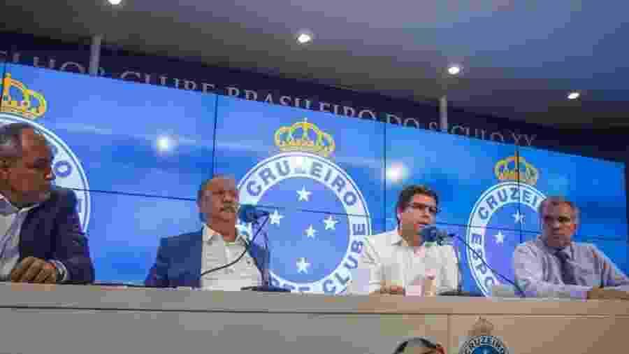 Wagner Pires de Sá e Itair Machado são processados pela diretoria do Cruzeiro - Vinnicius Silva/Cruzeiro
