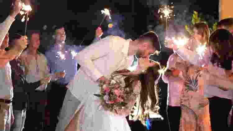 Flávio Gualberto e Bruna Gomides casam durante pandemia - Arquivo Pessoal/Miss Mendonça Fotografia - Arquivo Pessoal/Miss Mendonça Fotografia