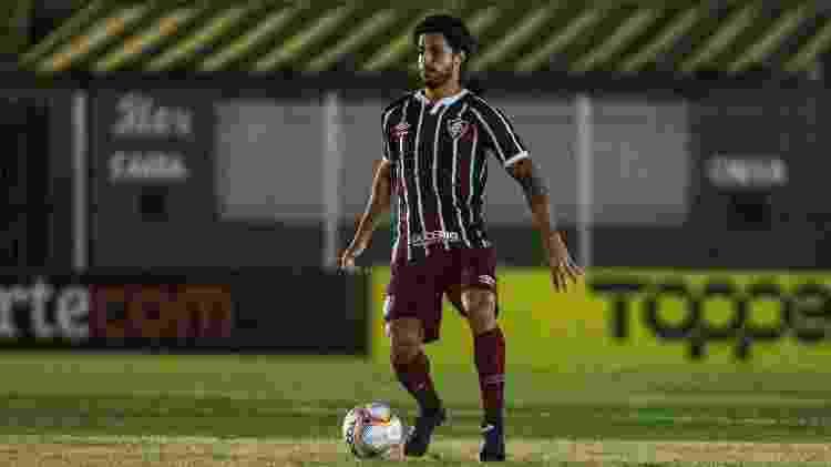 Fluminense de Hudson não tem patrocínio master em sua camisa - Lucas Mercon/Fluminense FC - Lucas Mercon/Fluminense FC