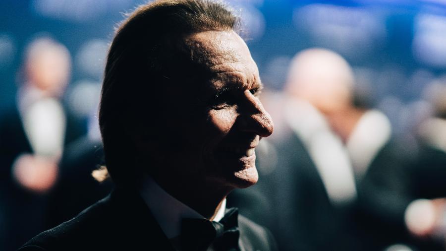 Emerson Fittipaldi em 2019, no prêmio Laureus - Simon Hofmann/Getty Images for Laureus