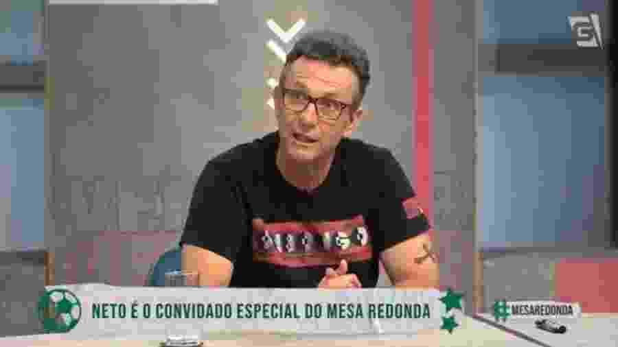 Neto critica Dyego Coelho em participação no Mesa Redonda, da Gazeta - Reprodução/Gazeta
