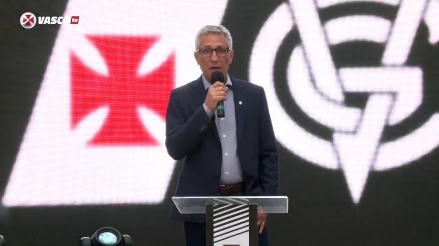Presidente do Vasco, Alexandre Campello - Reprodução / Vasco TV