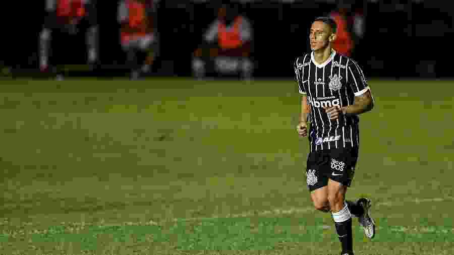 Mantuan comemora gol pelo Corinthians contra o Vasco - Thiago Ribeiro/AGIF
