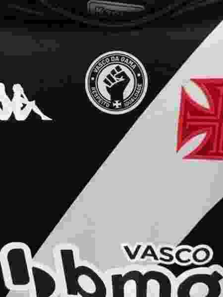 Camisa do Vasco terá símbolo contra o racismo na partida diante do Fortaleza em São Januário - Divulgação / Site oficial do Vasco