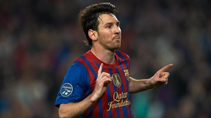 Messi chegou a 100 pontos na Chuteira de Ouro 2011/12; será que Lewandowski pode repetir feito? - Getty Images