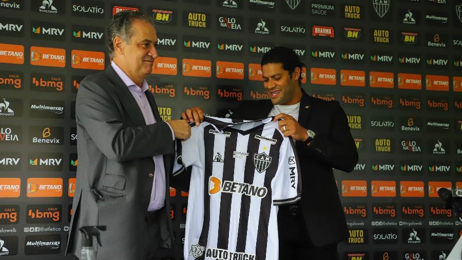 Sérgio Coelho, presidente atleticano, afirma que clube tem planos audaciosos e pretende ser o maior da América Latina - Pedro Souza/Atlético-MG
