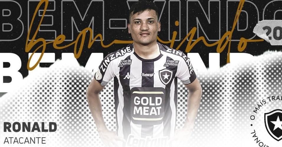 Ronald, novo atacante do Botafogo