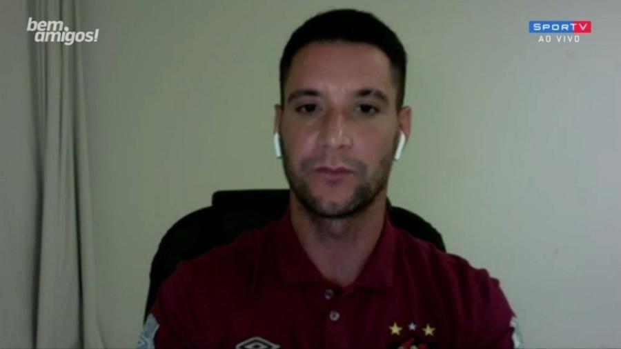 Thiago Neves diz jogadores já estavam desacreditados quando Rogério Ceni chegou ao Cruzeiro - Reprodução/SporTV
