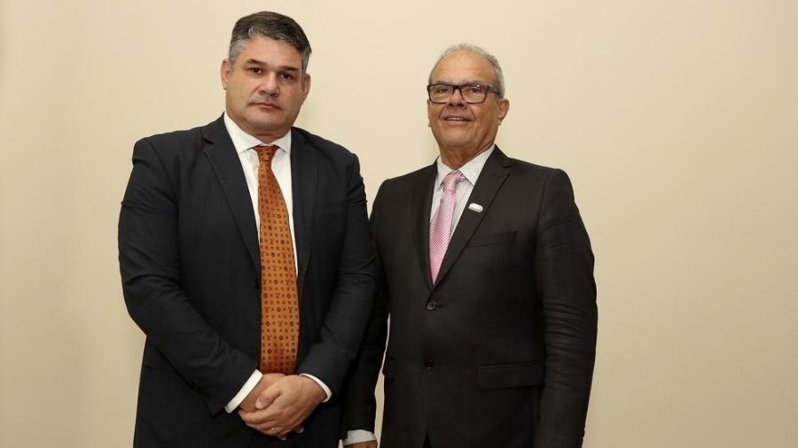 Wlamir e Warlindo, candidatos a presidente da CBAt - Wagner do Carmo/CBAt
