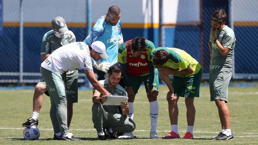 Palmeiras faz último treino antes de encarar o Flamengo, pela Supercopa do Brasil - Cesar Greco/ Palmeiras