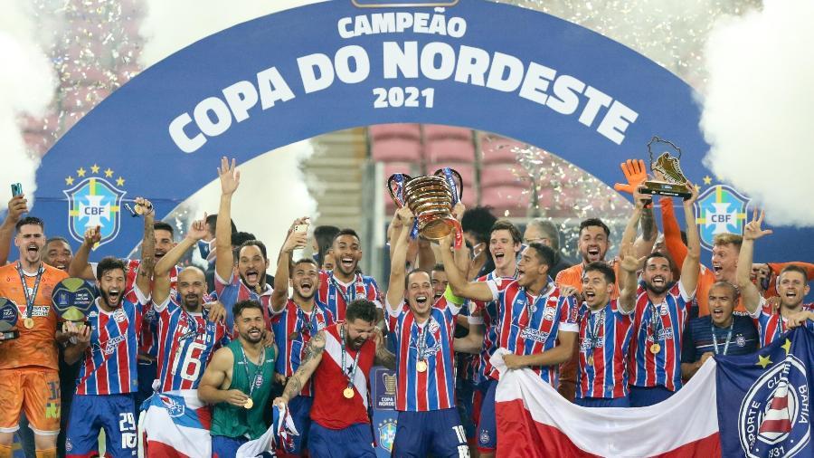 Bahia vence Ceará e é campeão da Copa do Nordeste 2021 - MARLON COSTA/FUTURA PRESS/FUTURA PRESS/ESTADÃO CONTEÚDO