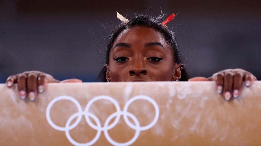 Simone Biles está fora da final do individual geral da ginástica nas Olimpíadas - Reuters