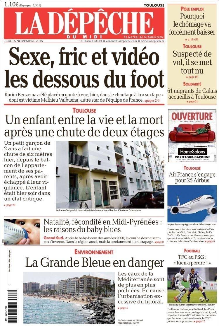 La Dépêche du Midi (Toulouse, França):