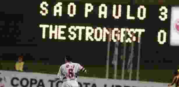 São Paulo x The Strongest em 2005 -  Fernando Santos/Folha Imagem -  Fernando Santos/Folha Imagem