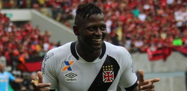 Riascos tem demonstrado seu desejo de voltar ao Vasco nas redes sociais