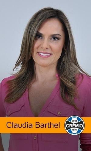 Claudia Barthel (Rede TV!): Grêmio