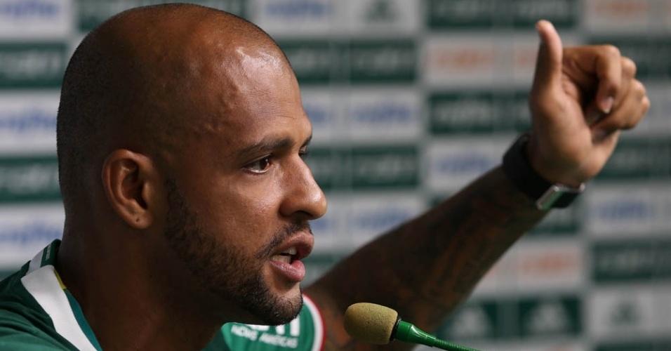 Felipe Melo apresentação Palmeiras 3