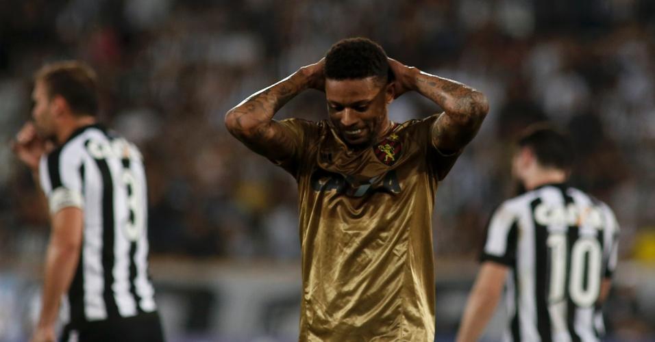 André lamenta oportunidade desperdiçada pelo Sport no Engenhão