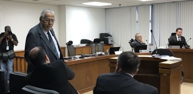Eurico Miranda no julgamento do Vasco, no STJD