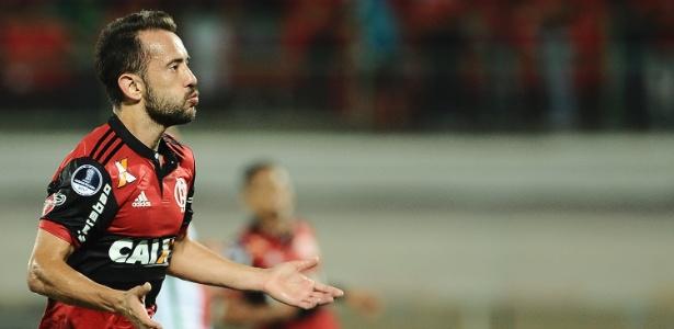 Everton Ribeiro não pode jogar a Copa do Brasil, mas está ansioso com final no Fla