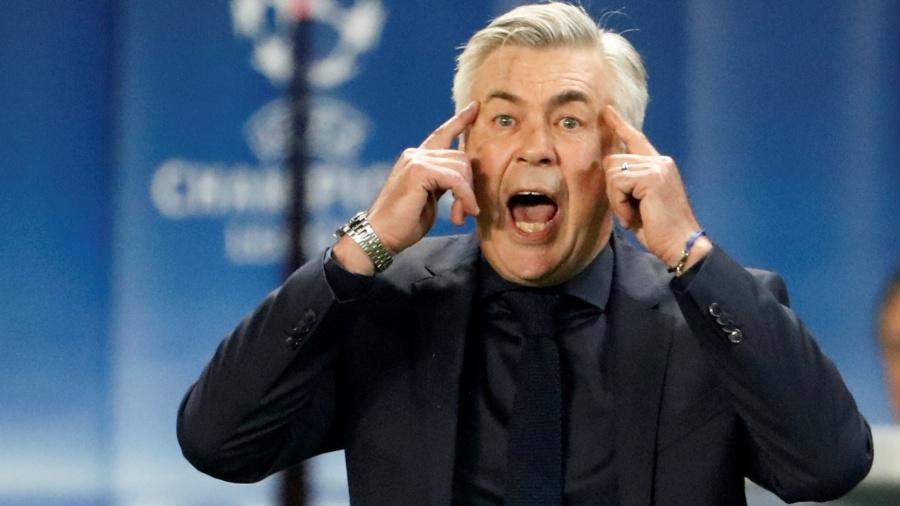 Carlo Ancelotti foi demitido do Bayern após derrota para o PSG - Charles Platiau/Reuters