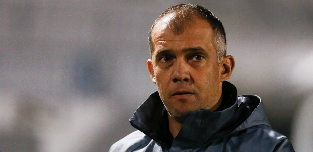 Eduardo Baptista comemorou vitória importante sobre o Corinthians - Marcello Zambrana/AGIF